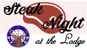 Steak Night & Lodge Initiation Meeting @ Littleton Elks | Littleton | Colorado | United States