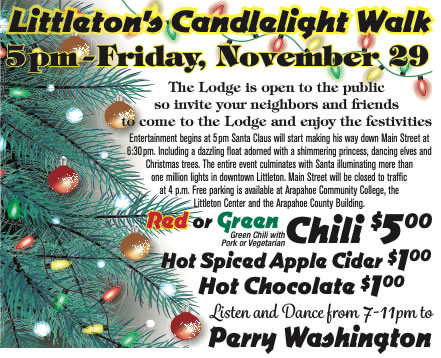Littleton's Candelight Walk @ Littleton Elks #1650 | Littleton | Colorado | United States