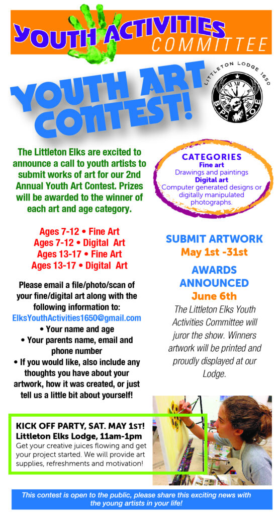 Youth Activities Art Show 2021