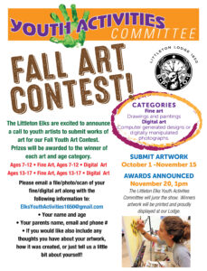 Youth Fall Art Contest